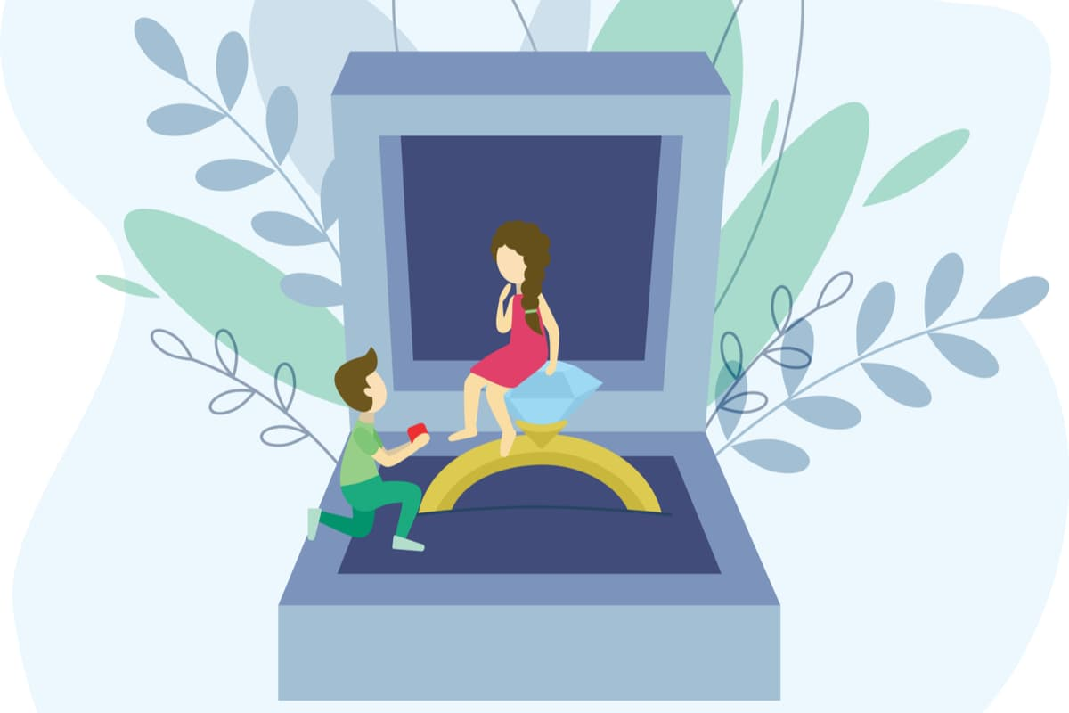 プロポーズっていつするのが正解?【ベストな交際期間とタイミング】