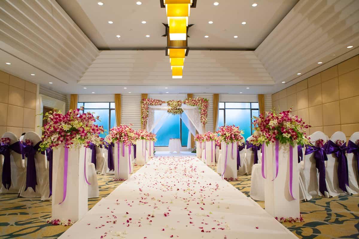 結婚式場例①