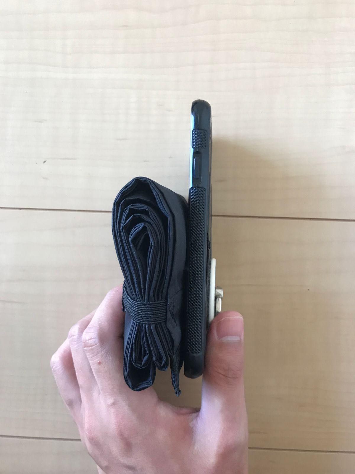 シュパットのDropタイプとiPhone7(横)